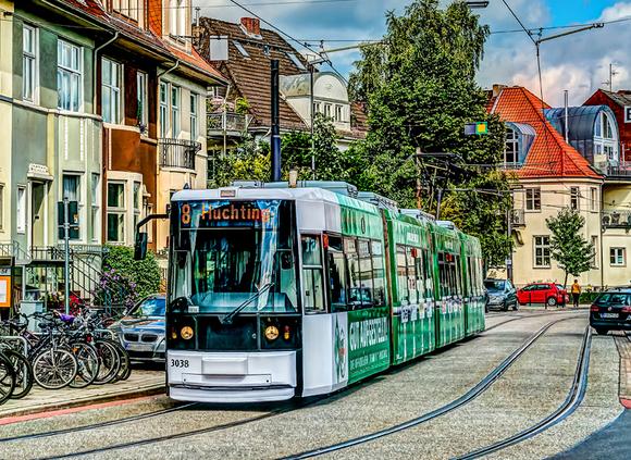 Straßenbahn GT8N