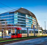 Straßenbahn in der Überseestadt