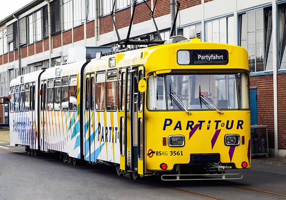 Party-Straßenbahn